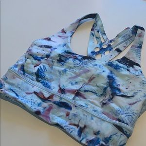 Lululemon blue sports bra!